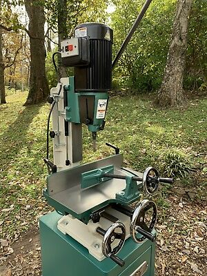 Used G0448 Heavy-Duty Mortiser With Stand And Accesories
