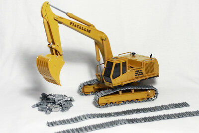 Set cingoli, FIAT ALLIS FE40 FE45 Old Cars 61000, 1:50, metal track, Caterpillar