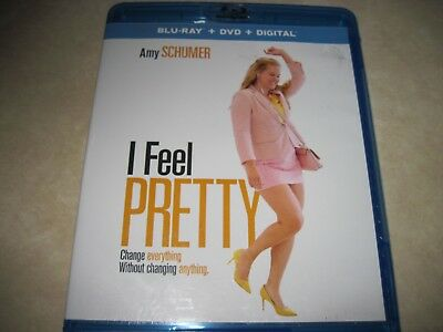 I Feel Pretty (Blu-ray Disc, 2018) no dvd no code