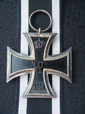 ORIGINAL GERMAN IRON CROSS 2nd CLASS, WW1,RARE MAKER MARKED O