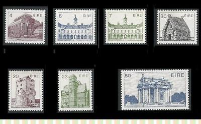 Ireland (Irish Eire) MNH Stamps 1983 Definitives - Irish Architecture