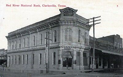 Clarksville,Tx.View of the Red River National Bank