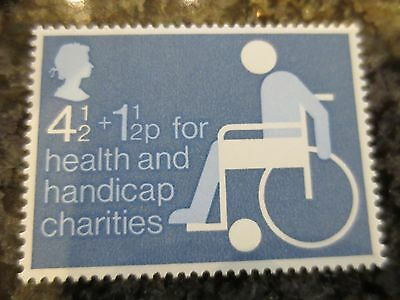 1975 Health and Handicapped SG 970 MNH GB commemorative stamp set