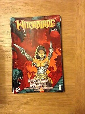Witchblade Day of the Outlaws issue 1 (VF) from April 2013 - discounted post