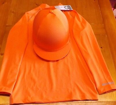 Breatheable XC Cross Country Colours Baselayer S/M orange+ hat cover