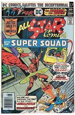 All Star Comics #61 VF/NM 9.0 ow/white pages  Justice Society  DC  1976  No Resv
