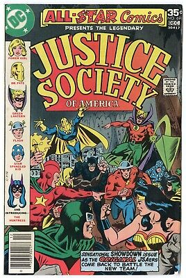 All Star Comics #69 VF+ 8.5 white pages  Justice Society  DC  1977  No Reserve