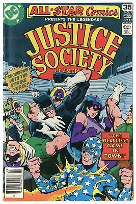 All Star Comics #71 NM- 9.2 white pages  Justice Society  DC  1978  No Reserve