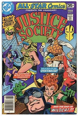 All Star Comics #73 NM- 9.2 white pages  Justice Society  DC  1978  No Reserve