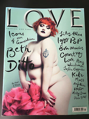 Love Magazine Issue One Beth Ditto