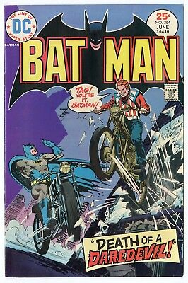 Batman #264 VF/NM 9.0 ow/white pages  DC  1975  No Reserve