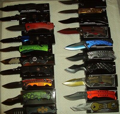 Wholesale lot - 20 pcs Spring Assist Knife (lot 999)