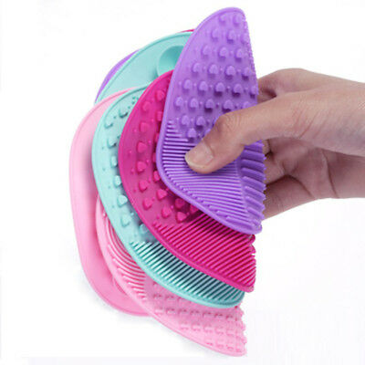 Healthy And Reliable Silicone Makeup Tool Cleansing Brush Scrubber Board