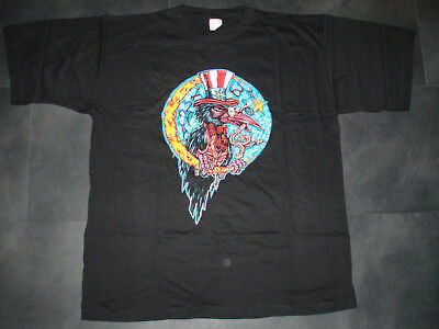Original Konzert T-Shirt THE BLACK CROWES THREE SNACKES AND ONE SNAKE XL