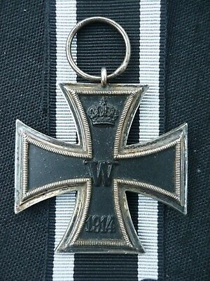 ORIGINAL GERMAN IRON CROSS 2nd CLASS, WW1, MAKER MARKED G