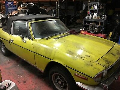 Triumph Stag - Restoration Project