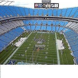 2 Carolina Panthers vs New Orleans Saints tickets