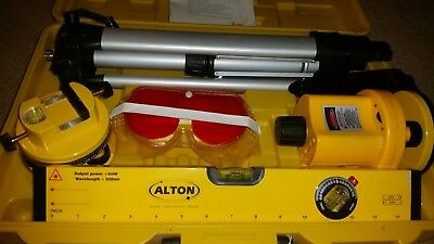 Alton Professional Multi-Beam & Rotary Laser Level Kit W/Carry Case #132300