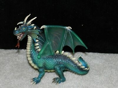Schleich Germany  2003 Green Dragon World of Knights Medieval Plastic Figure
