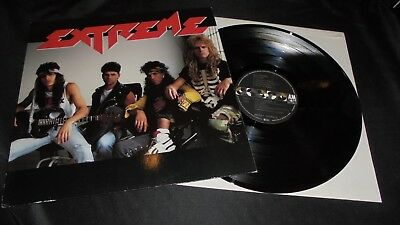 EXTREME same title LP vinyl 1st press A&M Records 1989 MINT- TOP unplayed