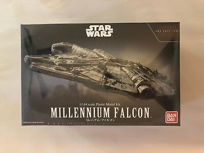 1/144 scale Plastic Model Kit Star Wars Millennium Falcon The Last Jedi Bandai