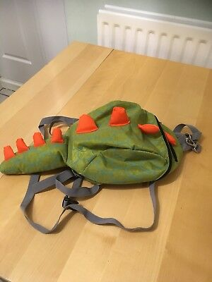 Dinosaur Toddler Backpack With Safety Harness.