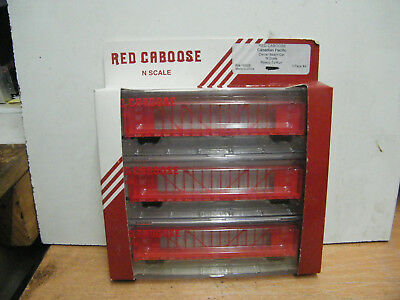 Red Caboose N Scale CP Centre Beam Cars (3 Pack).