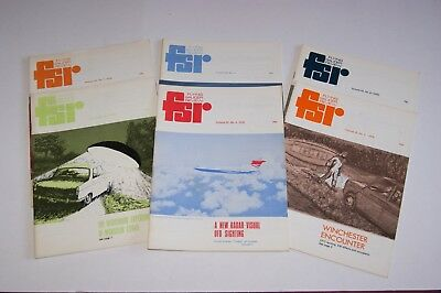 Flying Saucer Review (1976) Volume 22 complete set of six publications.