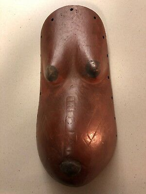 Makonde tanzania mozambique Pregnant Belly Mask East African Art Tribal Design