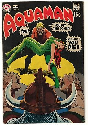 Aquaman v. 1 (1962) #46 - Silver Age  - High Res Scan - SAVE ON SHIPPING