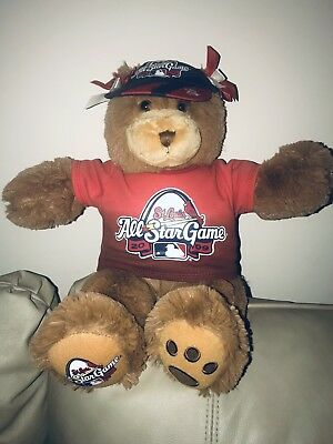 7523fe13b5b St. Louis Cardinals Build A Bear Workshop Teddy Bear Kids Only 2009 AllStar  Game