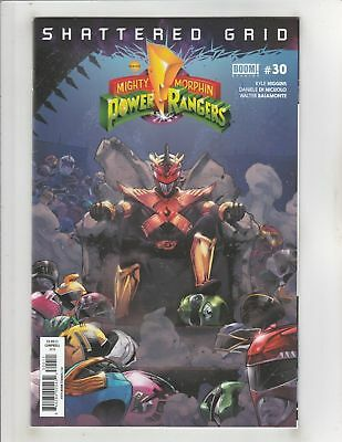 Mighty Morphin Power Rangers (2016) #30 NM Boom! Studios Shattered Grid