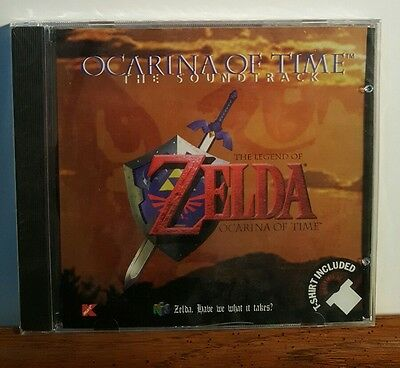 Zelda Ocarina of Time CD