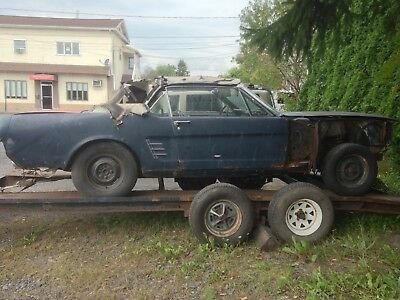 1966 Ford Mustang  1966 Ford Mustang Convertible Project Car