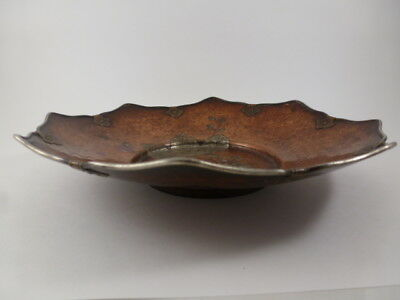 Antique Japanese Hand Hammered Copper Bowl / Dish