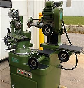 Monoset Tool & Cutter Grinder Denver type.Tooling package.Excellent Condition.