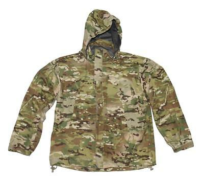 US Army Multicam OCP ECWCS Gore-Tex Extreme Cold Wet Weather Jacket - MED LONG