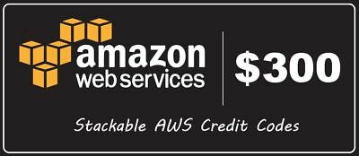 AWS Amazon $300($150×2) Credit Code Web Services promocode EC2 EDU RDS 2020