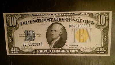1934-A $1 Silver Certificate North African Note, Wwii  Xf+