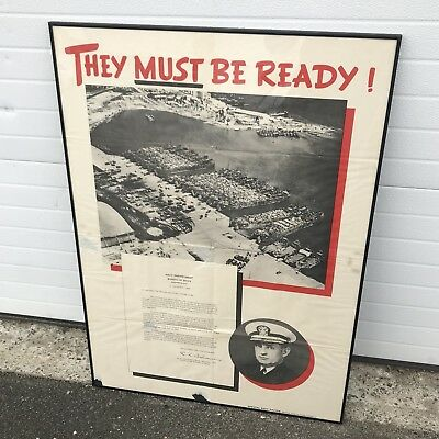 Original 1943 WW2 Poster - Invasion Of Allied Italy - 28.5 X 40 - NO RESERVE -