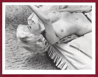 1950s Vintage Nude Photo~Big Perfect Breasts Pinup Jayne Mansfield on Phone~RARE