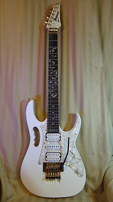 Ibanez JEM 555WH  1996, Evolutions, gold hardware, Korean