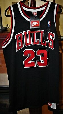 77e193f88 ... closeout nwt nike jersey size 50 vintage michael jordan chicago bulls  nba basketball 593ee c56a3
