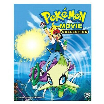 DVD Pokemon Movie 1-19 Collection.. English Subtitle All Region