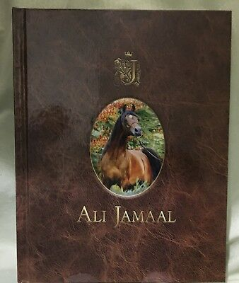 **NEW** ALI JAMAAL LIMITED EDITION ARABIAN HORSE TIMES BOOK STALLION 385 of 1395