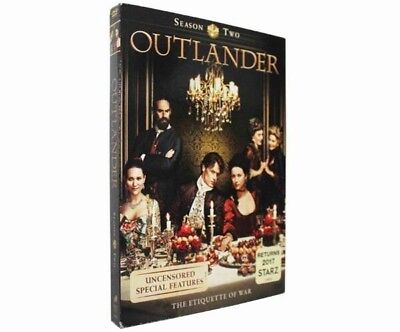 Outlander Season Two 2017 TV Series DVD New Sealed US Seller