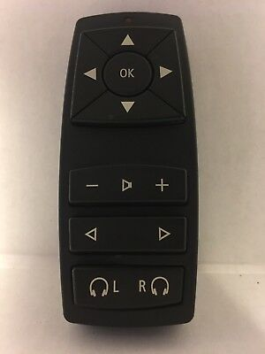 BMW X5 Rear Seat Entertainment Remote 6 921 553 A105 Factory OEM FREE SHIPPING