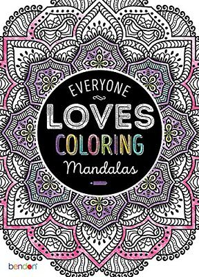 Adults Coloring Books for Stress Relief - Mandalas Patterns