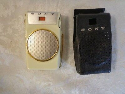 Sony Model TR - 610 Transistor Pocket Radio Very Powerful
