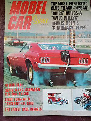 Model Car Science March 1970